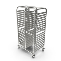 Shelf Trolley LIAM DUO PNG & PSD Images