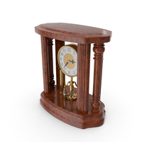Radika Classical Table Clock PNG & PSD Images