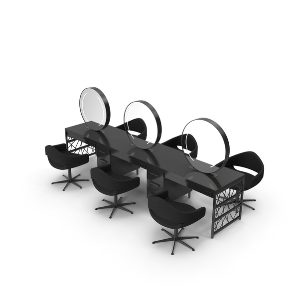 Hair Table Black PNG & PSD Images