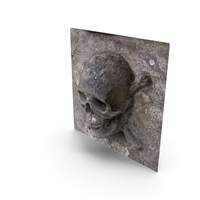 Skull Relief PNG & PSD Images