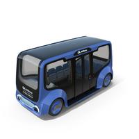 Autonomous Electric Minibus PNG & PSD Images