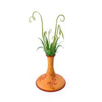 Vassal Flower Pot Butterfly PNG & PSD Images