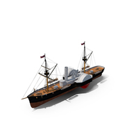 Steam Ship PNG & PSD Images