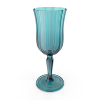 Blue Crystal Glass PNG & PSD Images