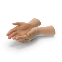 Two Hands Handful Pose PNG & PSD Images