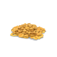 Piles of Corn Flakes Pieces PNG & PSD Images
