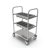 Tray Cutlery Trolley Empty PNG & PSD Images