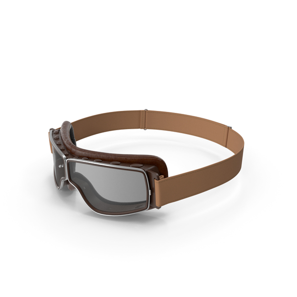 Brown Pilot Goggles PNG & PSD Images