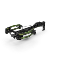 Camo Crossbow with Arrow PNG & PSD Images
