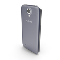 Samsung Galaxy S4 White and Blue PNG & PSD Images