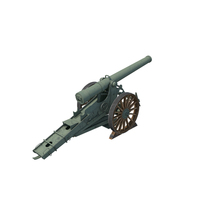 WWI Cannon PNG & PSD Images