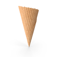 Natural Waffle Cone PNG & PSD Images