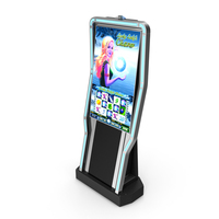 Casino Slot Machine Display PC PNG & PSD Images