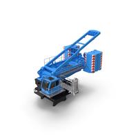 Crane LR 1600 Base 02 Blue PNG & PSD Images
