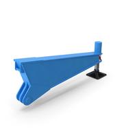 Crane Outrigger Blue PNG & PSD Images