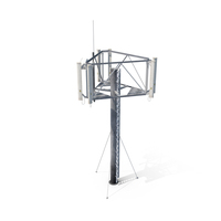 Cell Tower Antenna PNG & PSD Images