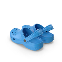 Causal Summer Foam Sandals PNG & PSD Images