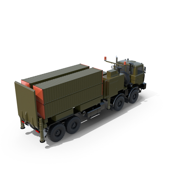 Lora Missile on Volat MZKT-7401 Chassis PNG & PSD Images