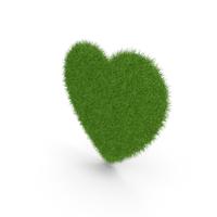 Grass Heart Symbol PNG & PSD Images