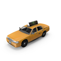 Generic New York Taxi PNG & PSD Images
