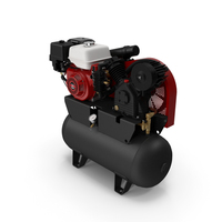 Air Compressor with Engine PNG & PSD Images