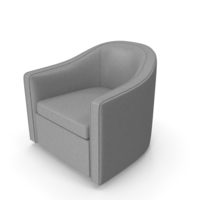 Barrel Lounge Chair PNG & PSD Images