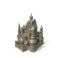 Fantasy Medieval Castle PNG & PSD Images