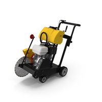 Concrete Saw with Engine PNG & PSD Images