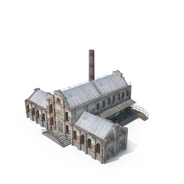 Old Factory PNG & PSD Images