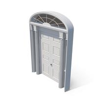 Victorian Doors PNG & PSD Images