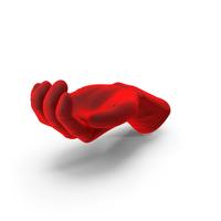 Glove Velvet Handful Hold Pose PNG & PSD Images