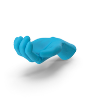Glove Rubber Handful Hold Pose PNG & PSD Images