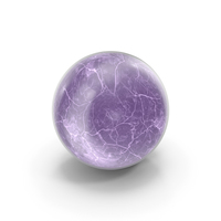 Crystal Ball Purple PNG & PSD Images
