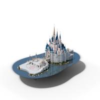Cinderella Castle PNG & PSD Images