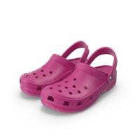 Classic Crocs Pink PNG & PSD Images