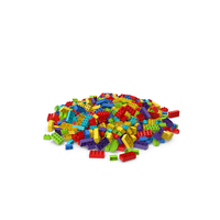 Pile Of Brick Toys PNG & PSD Images
