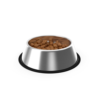 Dog Bowl Stainless Steel Food Container PNG & PSD Images