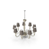 Barovier & Toso Vermont Chandelier PNG & PSD Images