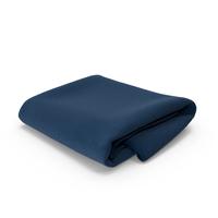 Blue Towel Folded PNG & PSD Images