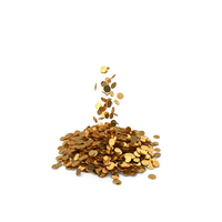 Pile of Gold coins Lari PNG & PSD Images