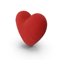 Heart Plush PNG & PSD Images