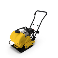 Plate Compactor with Engine PNG & PSD Images