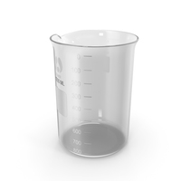 Glass Lab Beaker PNG & PSD Images