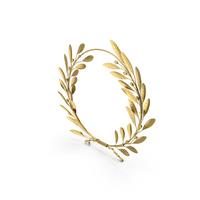 Gold Laurel Wreath PNG & PSD Images