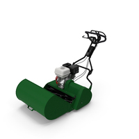 Reel Mower with Engine PNG & PSD Images