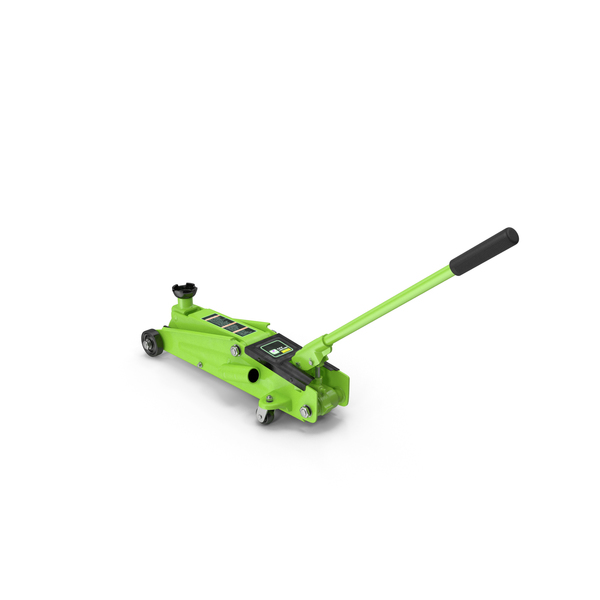 Hydraulic Trolley Jack Generic PNG & PSD Images