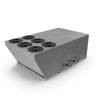 Industrial Rooftop Air Conditioning System New PNG & PSD Images