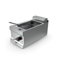 Inox Electric Fryer PNG & PSD Images