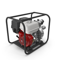 Water Pump with Engine PNG & PSD Images