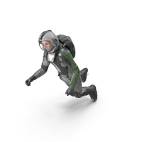 Cosmonaut Jump PNG & PSD Images